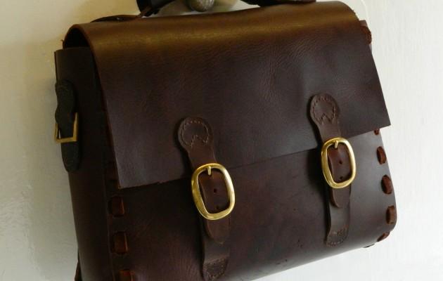 Buffalo Hide Briefcase/Satchel