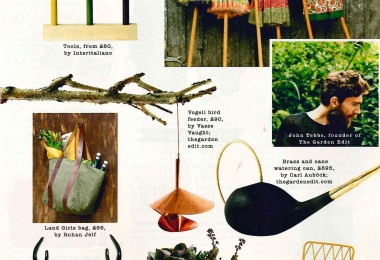 Sunday Times June 15th issue – Land Girls Bag